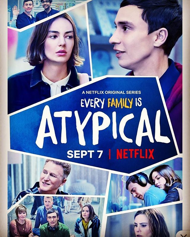 For all the incredible ATYPICAL families who have been waiting for this moment … SEASON 2 is finally here! If you have a child on the #spectrum, or know someone with #autism or #aspergerssyndrome, #season1 of #atypical – a #netflixoriginal @netflix – will have you tearing up, laughing, and appreciating that special person in your life throughout each and every episode.  Sometimes children living with #celiacdisease have symptoms similar to autism or #adhd and #anxiety. If you're concerned about your child's behavior, don't hesitate to get them tested for celiac disease. A #glutenfreelifestyle can change their life for the better.  #celiac #celiacawareness #glutenfreeceliackids #gf #glutenfree #celiacsafe #celiacproblems #celiaclife #celiactesting #neurologicaldisorder